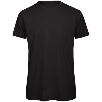 Kleidung Herren T-Shirts B And C TM042 Schwarz