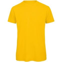 Kleidung Herren T-Shirts B And C TM042 Goldgelb