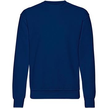 Kleidung Herren Sweatshirts Fruit Of The Loom 62202 Marineblau