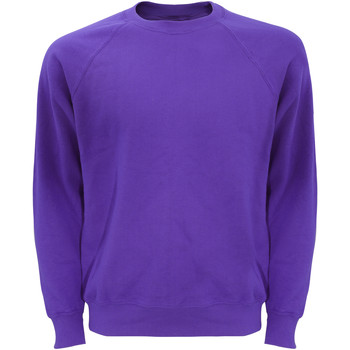 Kleidung Herren Sweatshirts Fruit Of The Loom 62216 Lila