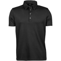 Kleidung Herren Polohemden Tee Jays TJ1440 Schwarz