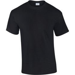 Kleidung Herren T-Shirts Gildan Ultra Schwarz