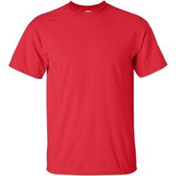 Kleidung Herren T-Shirts Gildan Ultra Rot