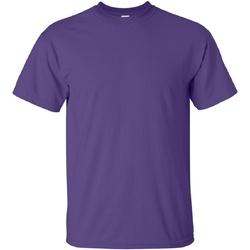 Kleidung Herren T-Shirts Gildan Ultra Lila