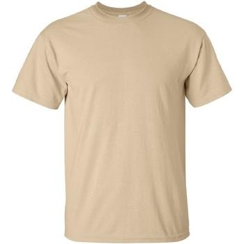 Kleidung Herren T-Shirts Gildan Ultra Tan