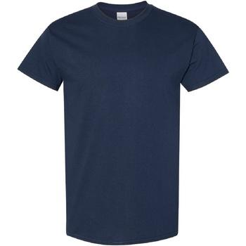 Kleidung Herren T-Shirts Gildan Heavy Marineblau