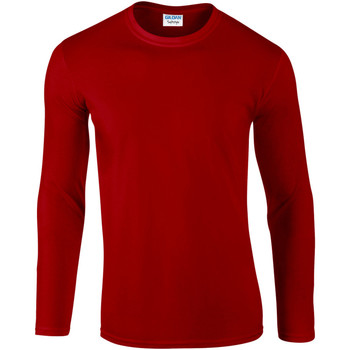 Kleidung Herren Langarmshirts Gildan 64400 Rot