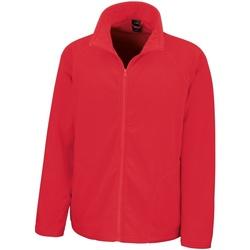 Kleidung Herren Fleecepullover Result R114X Rot