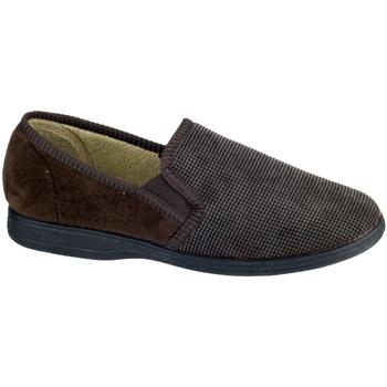 Schuhe Herren Hausschuhe Mirak Tim Braun