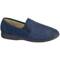 Schuhe Herren Hausschuhe Mirak Tim Marineblau