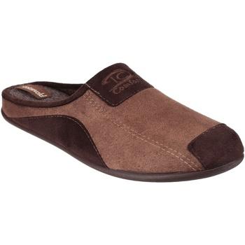 Schuhe Herren Hausschuhe Cotswold  Braun