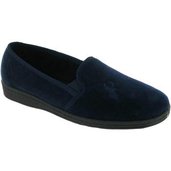 Schuhe Herren Hausschuhe Mirak Stag Slip-On Marineblau