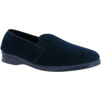 Schuhe Herren Hausschuhe Mirak Shepton Slip-On Marineblau