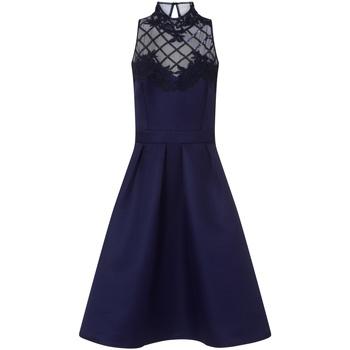 Kleidung Damen Kurze Kleider Little Mistress  Marineblau
