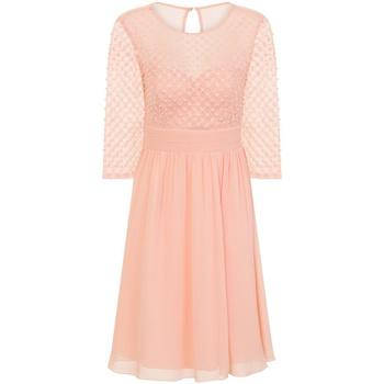Kleidung Damen Kurze Kleider Little Mistress  Pink