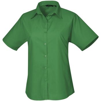 Kleidung Damen Hemden Premier PR302 Smaragdgrün