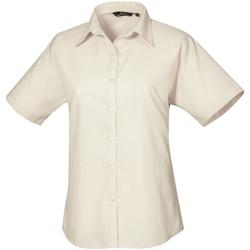 Kleidung Damen Hemden Premier PR302 Natur
