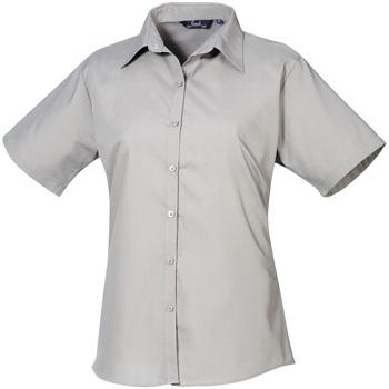 Kleidung Damen Hemden Premier PR302 Silber