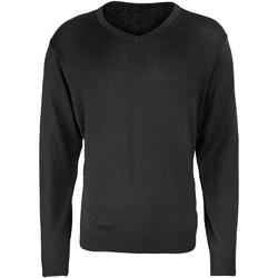 Kleidung Herren Pullover Premier PR694 Schwarz