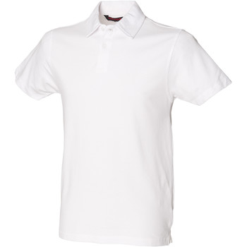 Kleidung Herren Polohemden Skinni Fit SFM42 Weiß