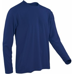 Kleidung Herren Langarmshirts Spiro S254M Marineblau