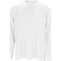 Kleidung Herren Langarmshirts Spiro S254M Weiß