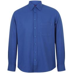 Kleidung Herren Langärmelige Hemden Henbury HB590 Königsblau