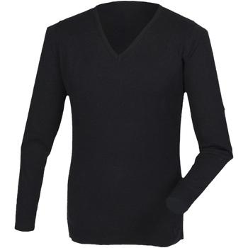 Kleidung Herren Langarmshirts Henbury HB760 Schwarz
