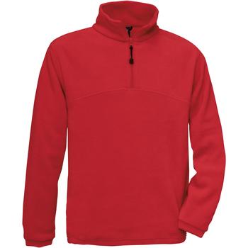 Kleidung Herren Fleecepullover B And C Highlander Rot