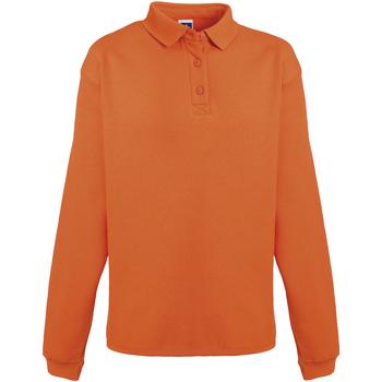 Kleidung Herren Sweatshirts Russell Heavy Duty Orange