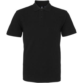 Kleidung Herren Polohemden Asquith & Fox AQ010 Schwarz