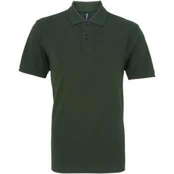 Kleidung Herren Polohemden Asquith & Fox AQ010 Flaschengrün