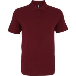 Kleidung Herren Polohemden Asquith & Fox AQ010 Burgunder