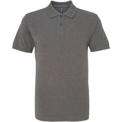 Kleidung Herren Polohemden Asquith & Fox AQ010 Anthrazit
