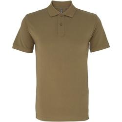 Kleidung Herren Polohemden Asquith & Fox AQ010 Khaki