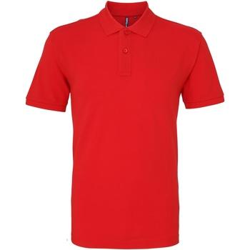 Kleidung Herren Polohemden Asquith & Fox AQ010 Rot