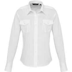 Kleidung Damen Hemden Premier PR310 Weiß