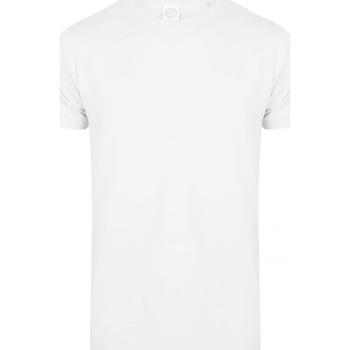 Kleidung Herren T-Shirts Skinni Fit SF122 Weiß