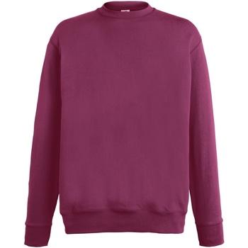 Kleidung Herren Sweatshirts Fruit Of The Loom SS926 Burgunder