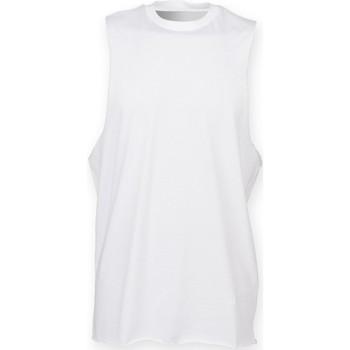 Kleidung Herren Tops Skinni Fit SF232 Weiß