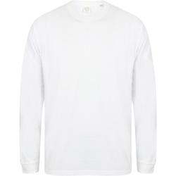 Kleidung Herren Sweatshirts Skinni Fit Slogan Weiß