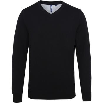 Kleidung Herren Pullover Asquith & Fox AQ042 Schwarz