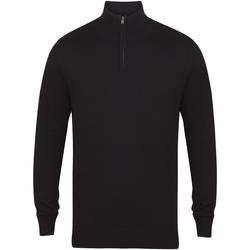 Kleidung Herren Pullover Henbury HB729 Schwarz