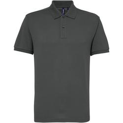 Kleidung Herren Polohemden Asquith & Fox AQ015 Anthrazit
