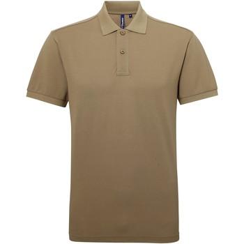 Kleidung Herren Polohemden Asquith & Fox AQ015 Khaki