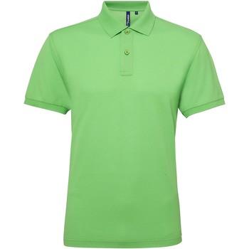 Kleidung Herren Polohemden Asquith & Fox AQ015 Limette