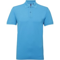 Kleidung Herren Polohemden Asquith & Fox AQ015 Türkis