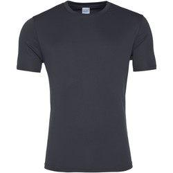Kleidung Herren T-Shirts Awdis JC020 Anthrazit
