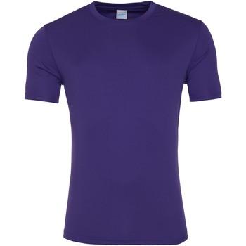 Kleidung Herren T-Shirts Awdis JC020 Violett