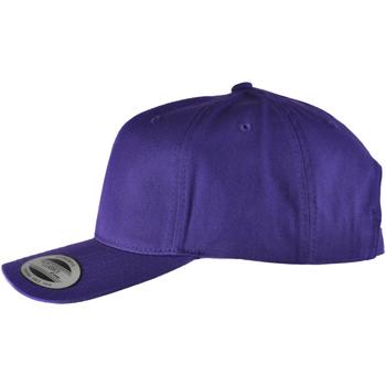 Accessoires Herren Schirmmütze Yupoong YP022 Violett